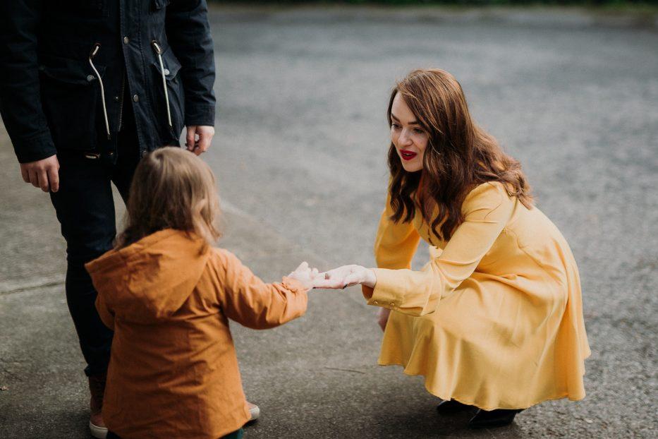 Outdoor Family Photography Session Dublin Úna O'Connor